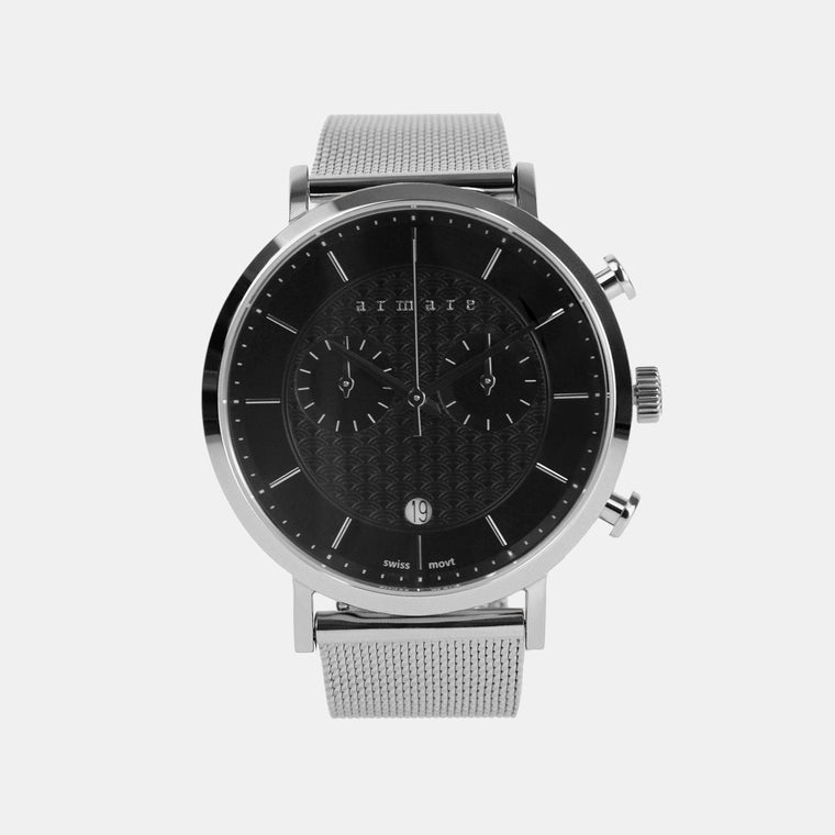 armare-watches-lechrono41-mesh-silver