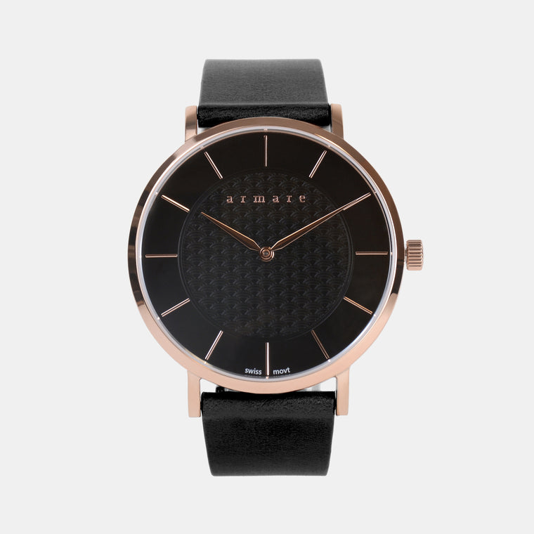 armare-watches-svelto40-black-rosegold