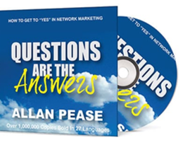 Questions Are The Answers by Allan Pease