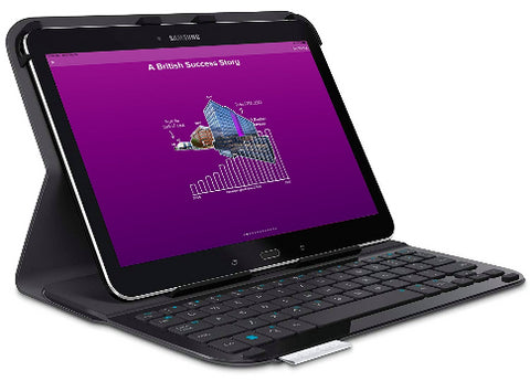 Samsung Galaxy Tab A with keyboard & cover