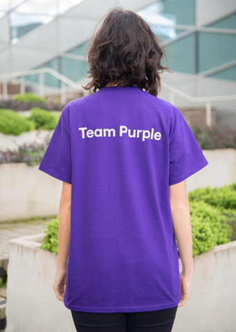 T-Shirt - Team Purple