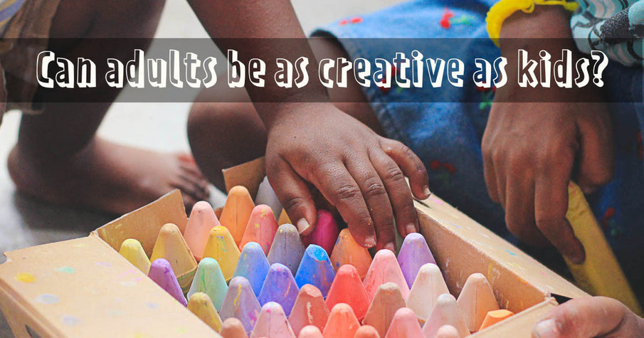 Can adults be as creative as kids?