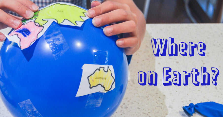 'Where on Earth?' activity for kids