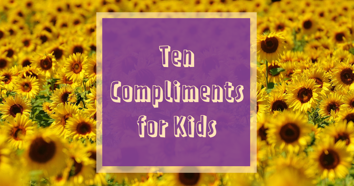 Ten compliments for kids cover image