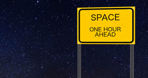 One hour to space