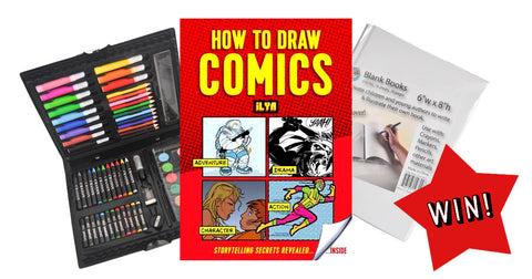 Facebook Competition 2017 - How To Draw Comics