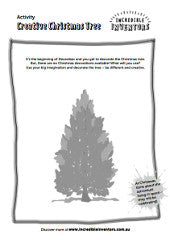 Activity Sheet - Creative Christmas Tree