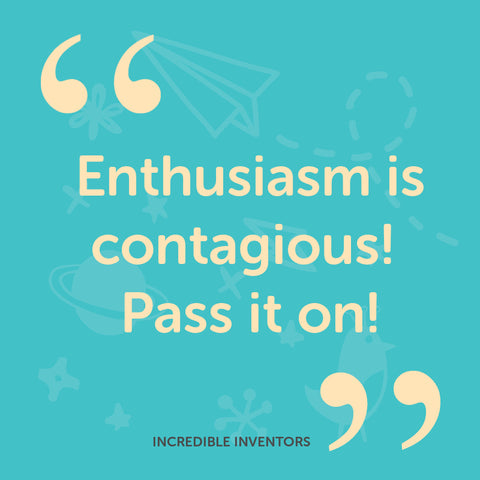 enthusiasm is contagious pass it on
