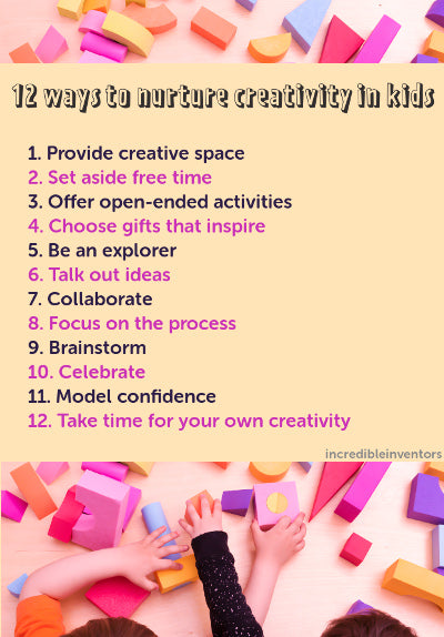 How to develop creative skills in kids