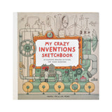 My Crazy Inventions Sketchbook front cover