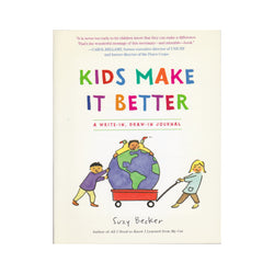 Kids Make It Better activity book front cover