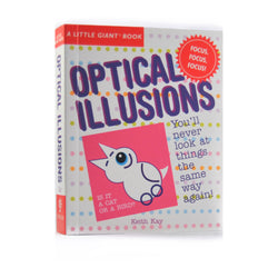 A Little Giant Book of Optical Illusions front cover