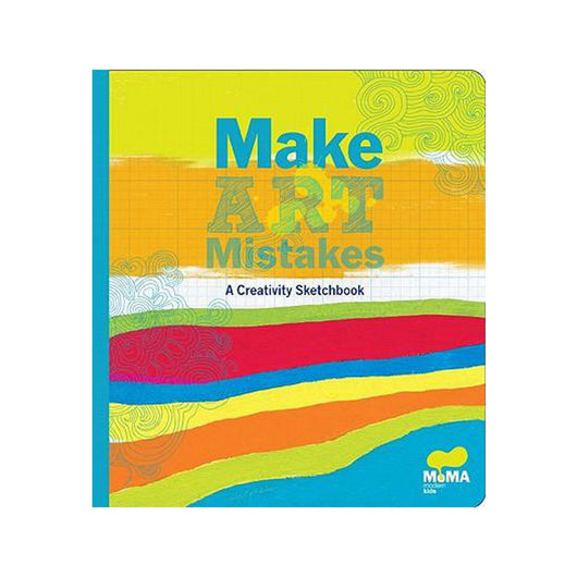 Make Art Mistakes activity book from the Museum of Modern Art