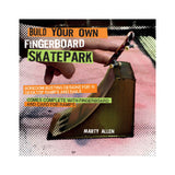 Build Your Own Fingerboard Skatepark kids activity book