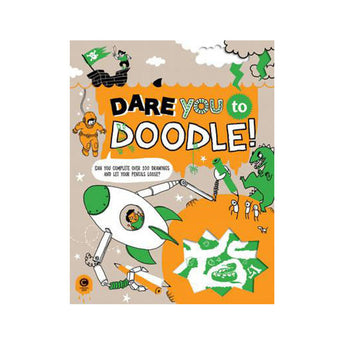 Dare You To Doodle activity book for kids