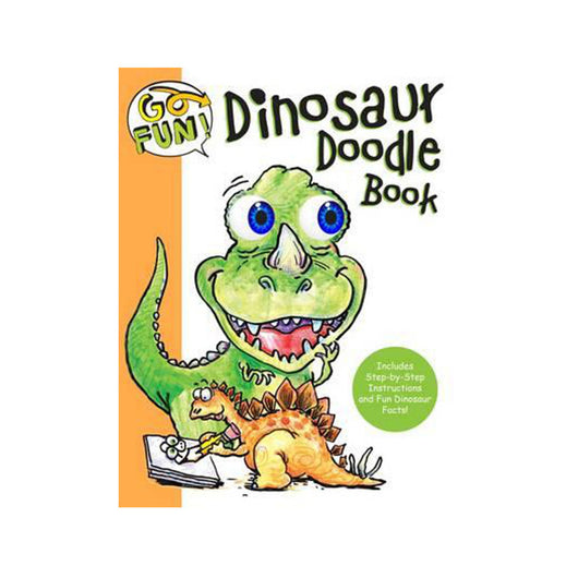 Go Fun Dinosaur Doodle Book activity book for kids