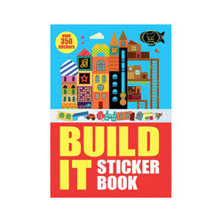 Build It activity book front cover