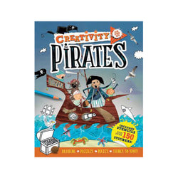 Creativity on the Go Pirates activity book