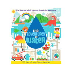 The Adventures of Water kids book front cover