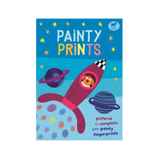 Painty Prints activity book for kids