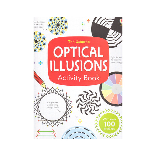 The Usborne Optical Illusions Activity Book front cover