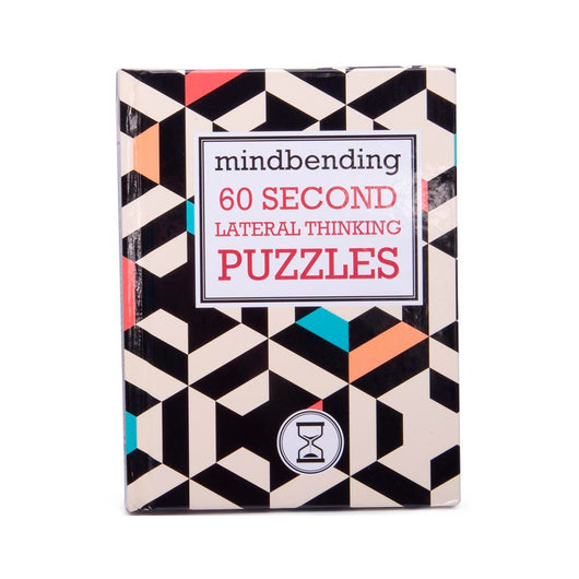 Mindbending 60 Second Lateral Thinking Puzzles book
