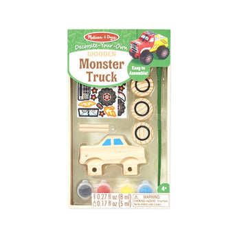Melissa and Doug Decorate Your Own Wooden Monster Truck
