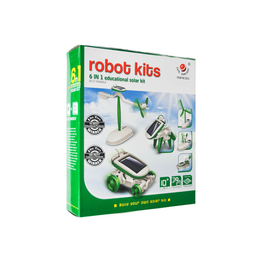 6 in 1 Robot Activity Kit