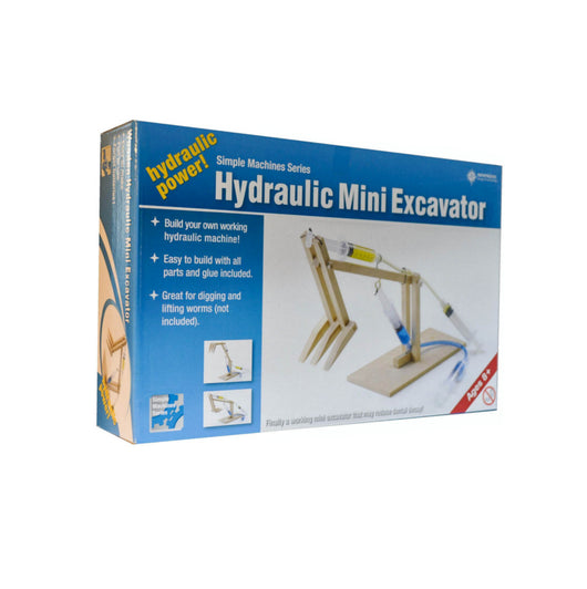 Pathfinders Hydraulic Mini Excavator activity kit for kids