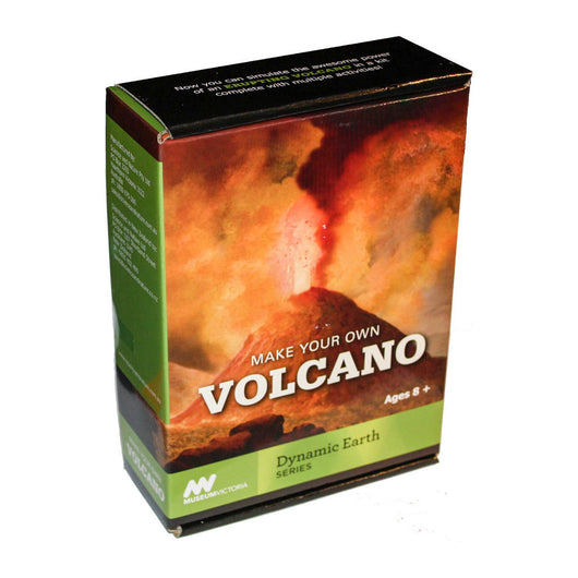 Museum Victoria Make Your Own Volcano activity kit for kids