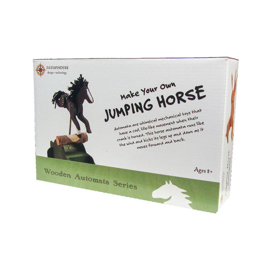 Pathfinders Make Your Own Jumping Horse Automata activity kit for kids