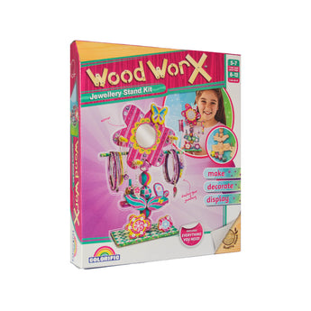 Wood Worx Jewellery Stand Kit for kids