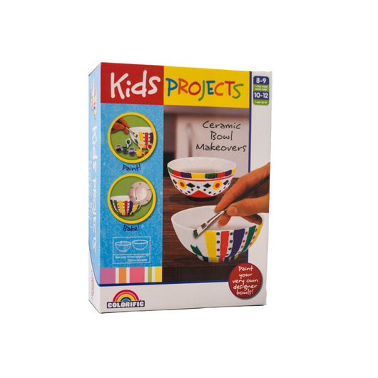 Colorific Kids Projects Ceramic Bowl Makeovers activity kit