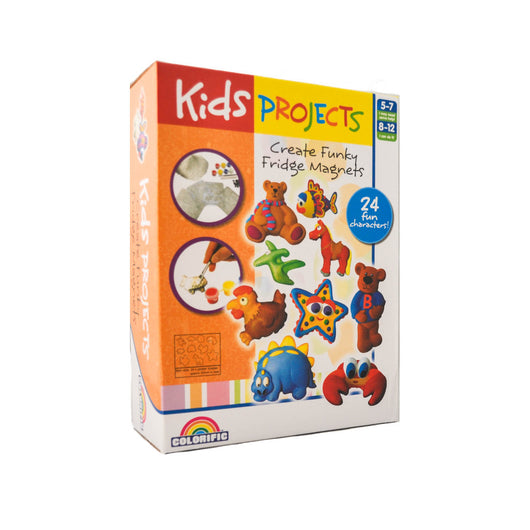 Colorific Kids Projects Funky Fridge Magnets activity kit for kids