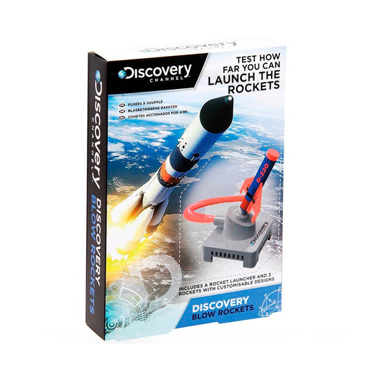 Discovery Channel Blow Rockets Kit box