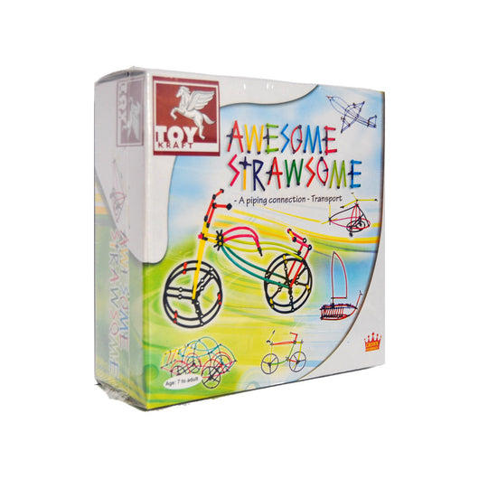 Awesome Strawsome transport activity kit