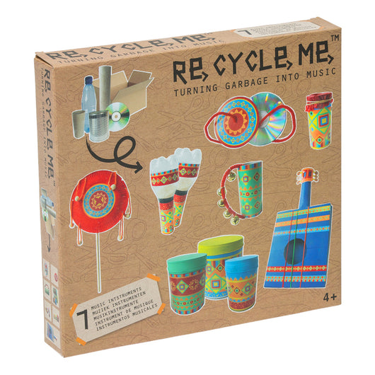 Recycle Me Turning Garbage Into Music activity kit for kids
