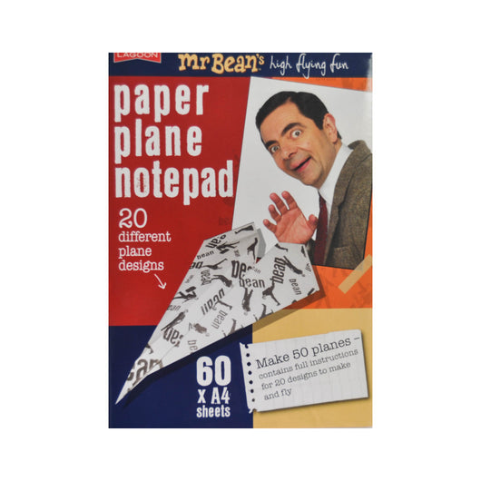 Mr Bean's Paper Plane Notepad