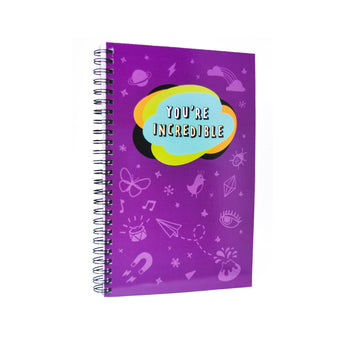 You're Incredible Notebook stationery