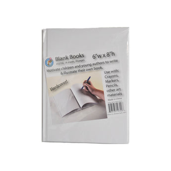 White hardcover blank book to create your own book