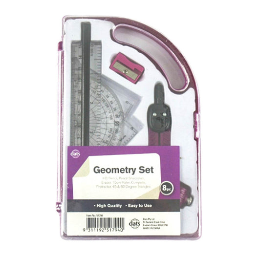 DATS Geometry Set in purple
