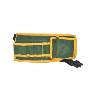 Costume tool belt green and yellow