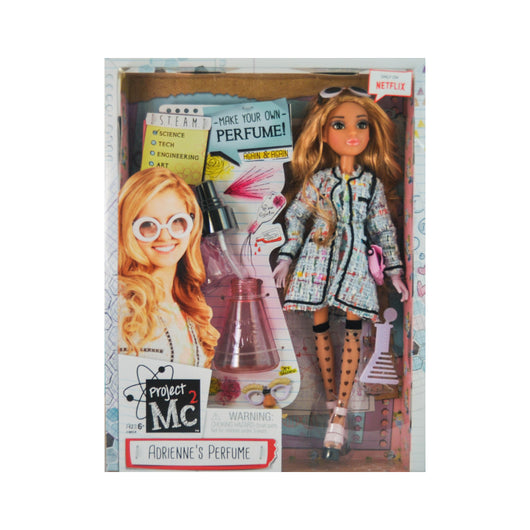Project MC2 Adrienne's Perfume scientist doll with experiment