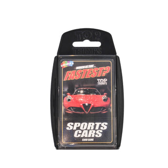 Top Trumps Sports Cars card game