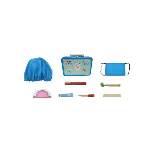 Dentist costume and tools kids kit