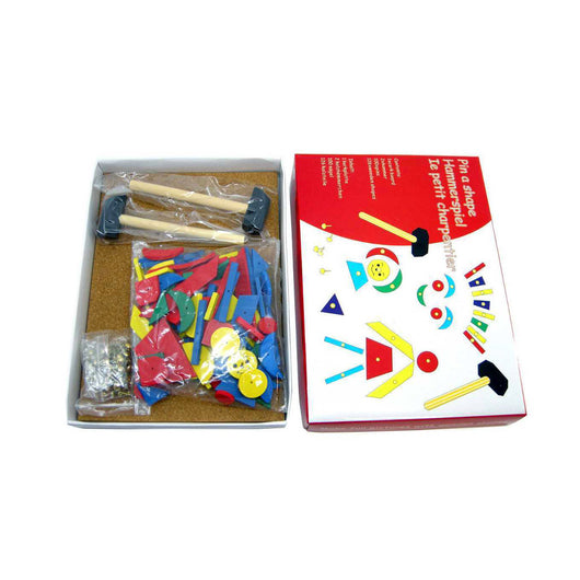 Pin A Shape Activity Kit with Hammer