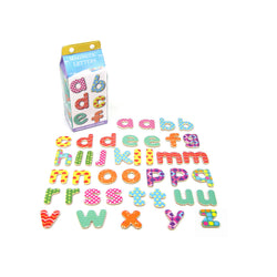 Wooden Magnetic Letters with Fun Designs
