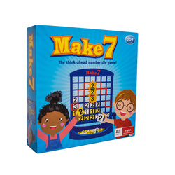 Make 7 - the think ahead number tile game