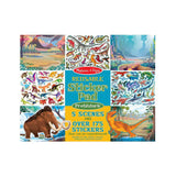 Melissa and Doug Reusable Sticker Pad Prehistoric Scenes