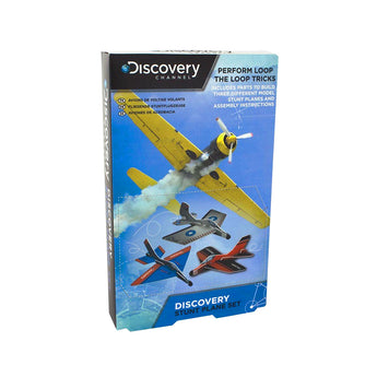 Discovery Channel Stunt Plane Set